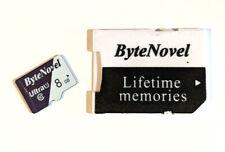 ByteNovel 8GB Micro SD Card 8 gb Class 10 Dashcam cellphone Etc microSD