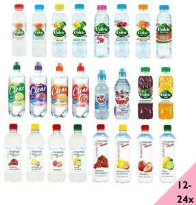 Volvic,Calypso,Vim2o,Mountain Mist Strawberry,Lemon & Lime,Summer Fruits Water
