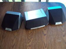 Sony Surround 3 Speaker System SS-CN50  2 SS-SR50 Speakers magnetically shielded