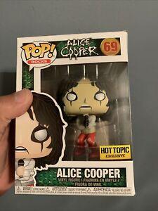 Funko POP! Alice Cooper #69 Hot Topic Exclusive Vinyl Figure In-Hand