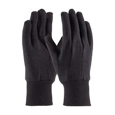Pip 95-808 Brown, Cotton/Polyester, Clute Pattern, Kw, Reg Wgt Gloves (per 12)