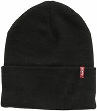 LEVIS RED TAB presentarsi Beanie / Beany Wooly Cappello Stile nome GEMMA-Nero