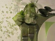 Moss Green - Table Diamond Confetti Party Decoration Crystal Gems 4,5 6.5 8 10mm