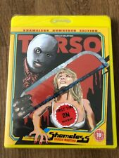 Torso Shameless Blu-ray Sealed Region B
