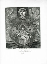 09)Nr.160- EXLIBRIS- Vasyl Fenchak, Kassandra