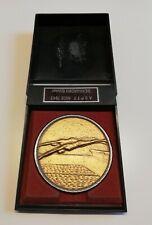Médaille plaqué or 18K NATATION