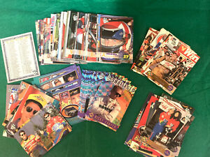 1996 Press Pass Race Card Set #1-#106 Dale Earnhardt Jeff Gordon Michael Waltrip