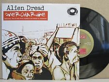 """Alien Dread ft Martin Campbell- Overcharge 10"""" EP, Single (2010 MINT*) Dub Roots"""