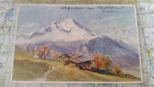 Berchtesgaden Königsee Watzmann AK Postkarte 1331