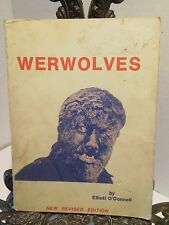 Werwolves Elliott O'Donnell How to Become One Exorcism Vampires Ghouls Werewolf