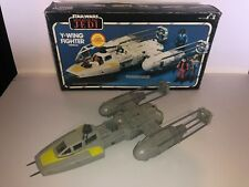 Vintage Star Wars ROTJ Y-Wing Fighter with Box - Kenner
