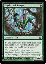 SKYSHROUD RANGER Tenth Edition MTG Green Creature — Elf Com