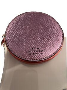 smythson round purse