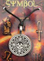Collar Colgante Inca Sol Protección 3520-D8C