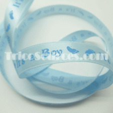 "Baby Shower Ribbon Baby Theme Birthday Ribbon 5/8""(16mm) x 25YDS - B4035"
