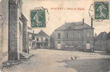 CPA 21 ROUVRAY PLACE DE L'EGLISE