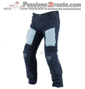 Trousers Dainese D-Stormer D-Dry Black Castle-Rock Motorcycle Man Waterproof Man