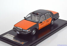 1:43 PremiumX Lincoln Town Car Taxi USA 1996 black/orange