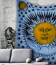 New Exclusive Tapestry Sun moon Good Morning Hippie Bedding Bohemian Room Decor