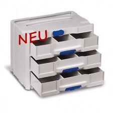 TANOS systainer® T-Loc SYS-Combi IV/3 lichtgrau    80101820   mit 3 Schubladen