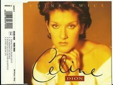 CELINE DION - THINK TWICE 4 TRACK CD / LE MONDE EST STONE, IF YOU ASK ME TO