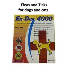 Pet tablet pill 4000 Remove Prevent Ticks and Fleas for Dogs & Cats