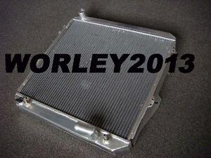 Aluminum radiator for Hilux Surf 2.4L Turbo Diesel