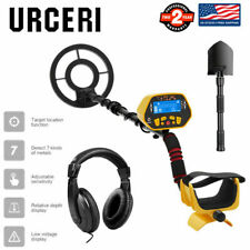 Waterproof Sensitive Search Coil Metal Detector Gold Digger w/Headphone & Shovel