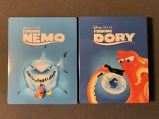 Finding Nemo & Finding Dory-Lot-Set-Blu-ray Steelbook-Disney-Pixar