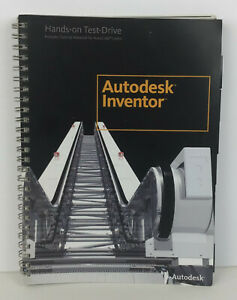 Autodesk Inventor 2008 Hands-on Test-Drive 3D Design AutoCAD Spiral Bound Manual