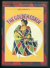 The Golden Coach (2004 Criterion DVD) Jean Renoir 1953 103 Minutes Anna Magnani