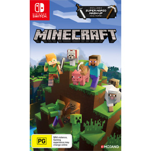 Minecraft Nintendo Switch and Switch Lite Includes Super Mario Mash-Up - New!!!