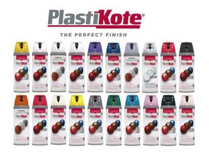 Plastikote Twist & Spray Paint 400ML / Matt / Satin / Gloss / Primer / Sealer
