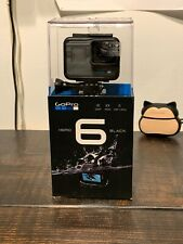 GoPro HERO6 Black Camera HD 4K Action Waterproof - Great Condition
