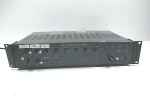 TOA 900 Series II Amplifier 8 Channel Rack Mount Pro Audio Deck A-903MK2 30W
