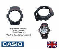 Genuine Casio Bezel for G-2900, G-2900F, G2900 watch case shell - Black 10092979
