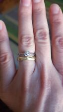 2005 LEO Diamond Platinum 0.34 Diamond Engagement Ring