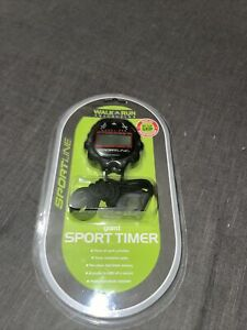 Sportline Giant All Purpose Sports Timer Stopwatch / Whistle