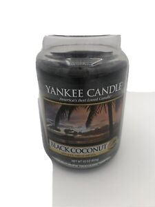 Yankee Candle Black Coconut Fresh Collection Discontinued Scent Large 22 oz Jar