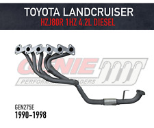 GENIE Headers / Extractors to suit Toyota Landcruiser 80 Series HZJ80R 4.2L 1HZ