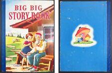 "1938 & 1941: ""BIG BIG STORY BOOK"": BLACK BEAUTY; HEIDI; PETER PAN; HANS BRINKER"