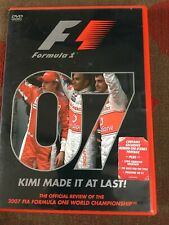 FORMULA ONE  F1 07 2007 KIMI MADE IT AT LAST REGION 2