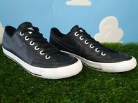 Nike Go Black/White Leather Trainers Size 7.5