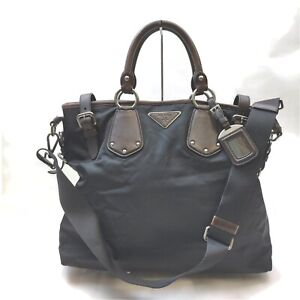 Prada Tote Bag  Black Nylon 1713714
