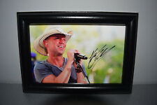 Kenny Chesney Singer Autographed signed photo print - READY FRAMED!