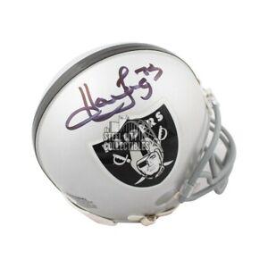 Howie Long Autographed Oakland Raiders Mini Football Helmet - JSA COA