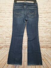 Mossimo Women's Low Rise Bootcut Blue Jeans Size 9 Stretch