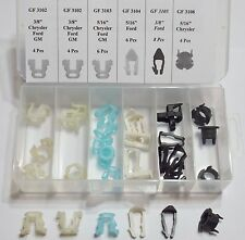 Fuel Line Retainer Clip Assortment (32 Pcs)