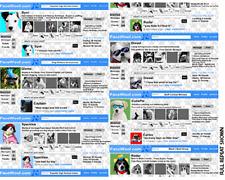 Half Metre Face Woof Facebook Dogs Cotton Quilting Fabric Benartex 5554 55