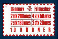 DENMARK - DANIMARCA - Libretti per distributori automatici da 10 Kr. - 1982